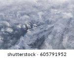 view of alps mountain range... | Shutterstock . vector #605791952