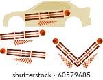 vehicle graphics  stripe  ...   Shutterstock .eps vector #60579685