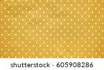 Polka Dots Pattern And Yellow...