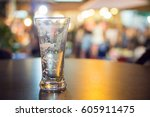 Close Up Of Empty Beer Mug For...