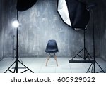 Modern Photo Studio Interior...
