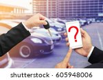 find new car no mobile | Shutterstock . vector #605948006