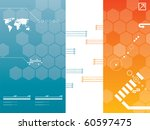 presentation template in vector | Shutterstock .eps vector #60597475