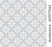 seamless ornamental pattern...   Shutterstock .eps vector #605979362