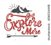 explore more. hand drawn... | Shutterstock .eps vector #606016448