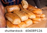 the bread | Shutterstock . vector #606089126