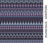 ethnic purple texture | Shutterstock .eps vector #60609286