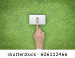 energy saving and ecological... | Shutterstock . vector #606112466