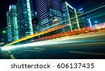 urban roads in the city   Shutterstock . vector #606137435