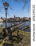 Harbor Of Blokzijl In The...