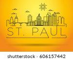 Minimal St. Paul City Linear...