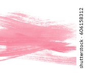 pink watercolor background | Shutterstock . vector #606158312