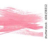 pink watercolor background | Shutterstock . vector #606158312