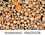 detail view a big pile of...   Shutterstock . vector #606224138