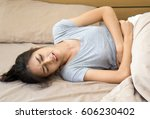 beautiful young asian woman... | Shutterstock . vector #606230402