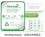ecology connection  concept...   Shutterstock .eps vector #606244862