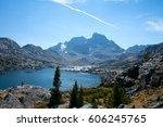 Garnet Lake And Banner Peak On...