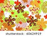 flower | Shutterstock .eps vector #60624919