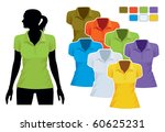 Woman Body Silhouette With...