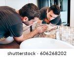 industry renovation details.... | Shutterstock . vector #606268202