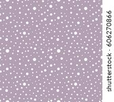 seamless vector pattern with... | Shutterstock .eps vector #606270866