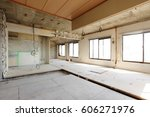being renovated house   Shutterstock . vector #606271976