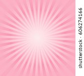 abstract soft pink peach rays...   Shutterstock .eps vector #606274166