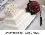wedding cake | Shutterstock . vector #60627823