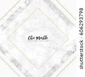 minimalist marble texture... | Shutterstock .eps vector #606293798