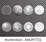 abstract balls burst curl...   Shutterstock .eps vector #606297722