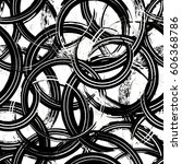 seamless background pattern ... | Shutterstock .eps vector #606368786