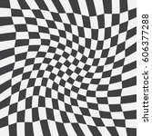 unequal twisted checks ... | Shutterstock .eps vector #606377288