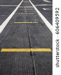 Small photo of Runway on the deck an aircraft carrier