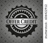 Offer Credit Realistic Black...