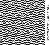 vector seamless pattern. modern ... | Shutterstock .eps vector #606452582