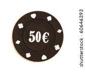 50 E Poker Chips