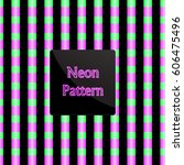 pattern stripe | Shutterstock .eps vector #606475496