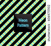 pattern stripe | Shutterstock .eps vector #606475502