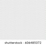 abstract honeycomb seamless... | Shutterstock . vector #606485372