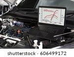 professional car mechanic... | Shutterstock . vector #606499172