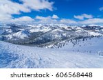Snow Covered Slopes Of The...
