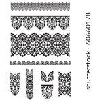 seamless trims for use with... | Shutterstock .eps vector #60660178