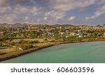 panoramic view of st. john's ... | Shutterstock . vector #606603596