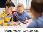 education  children  technology ... | Shutterstock . vector #606606536