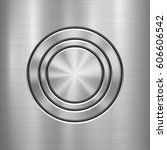 metal abstract technology... | Shutterstock .eps vector #606606542