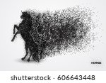 Horse Particle Vector