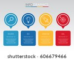 info graphic template for... | Shutterstock .eps vector #606679466