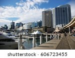 Darling Harbour At Sydney  Nsw...