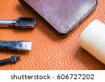 leather craft toolwith wallet