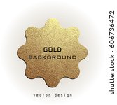 premium quality golden label... | Shutterstock .eps vector #606736472